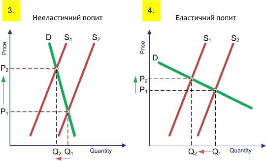 Еластичність попиту і пропозиції. Фактори еластичності попиту графічне зображення